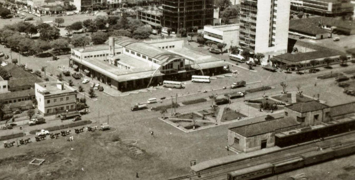 Terminal Multimodal - Década de 1960