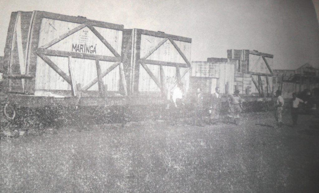 Geradores da Usina Diesel Elétrica - 1953