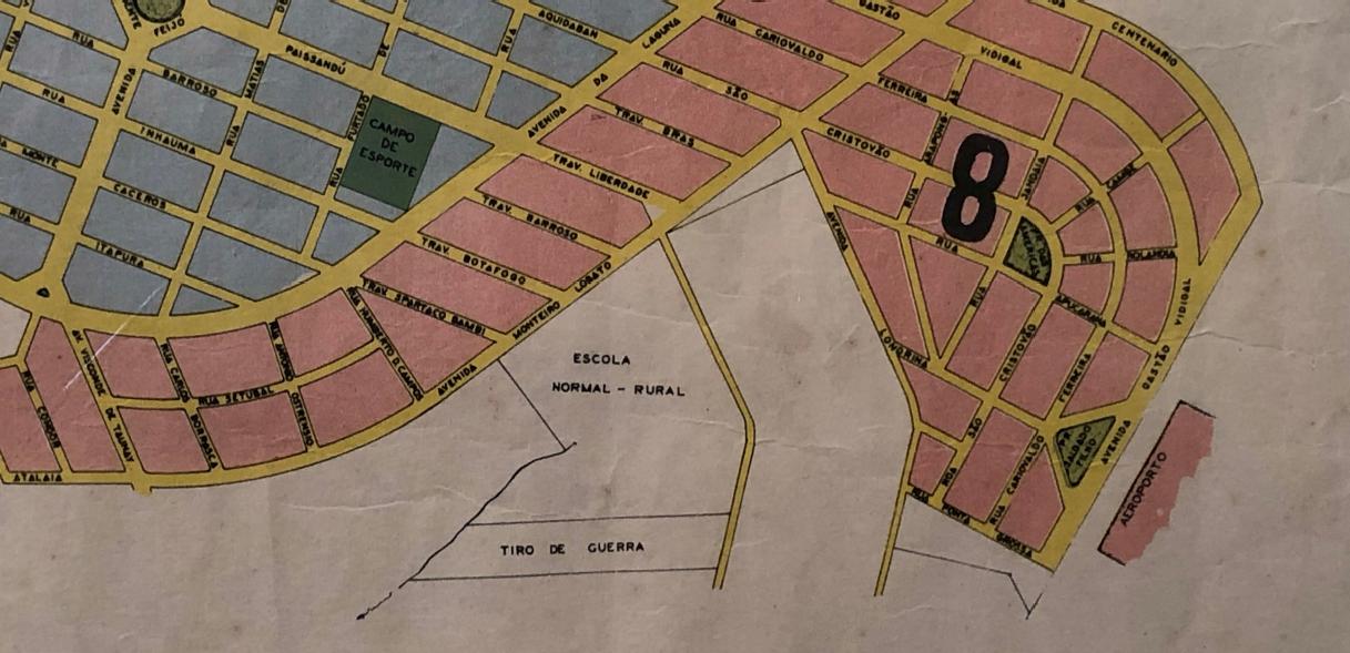 Histórico da avenida Guedner