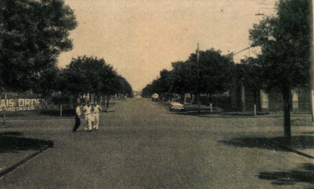 Rua Aquidaban - Década de 1950