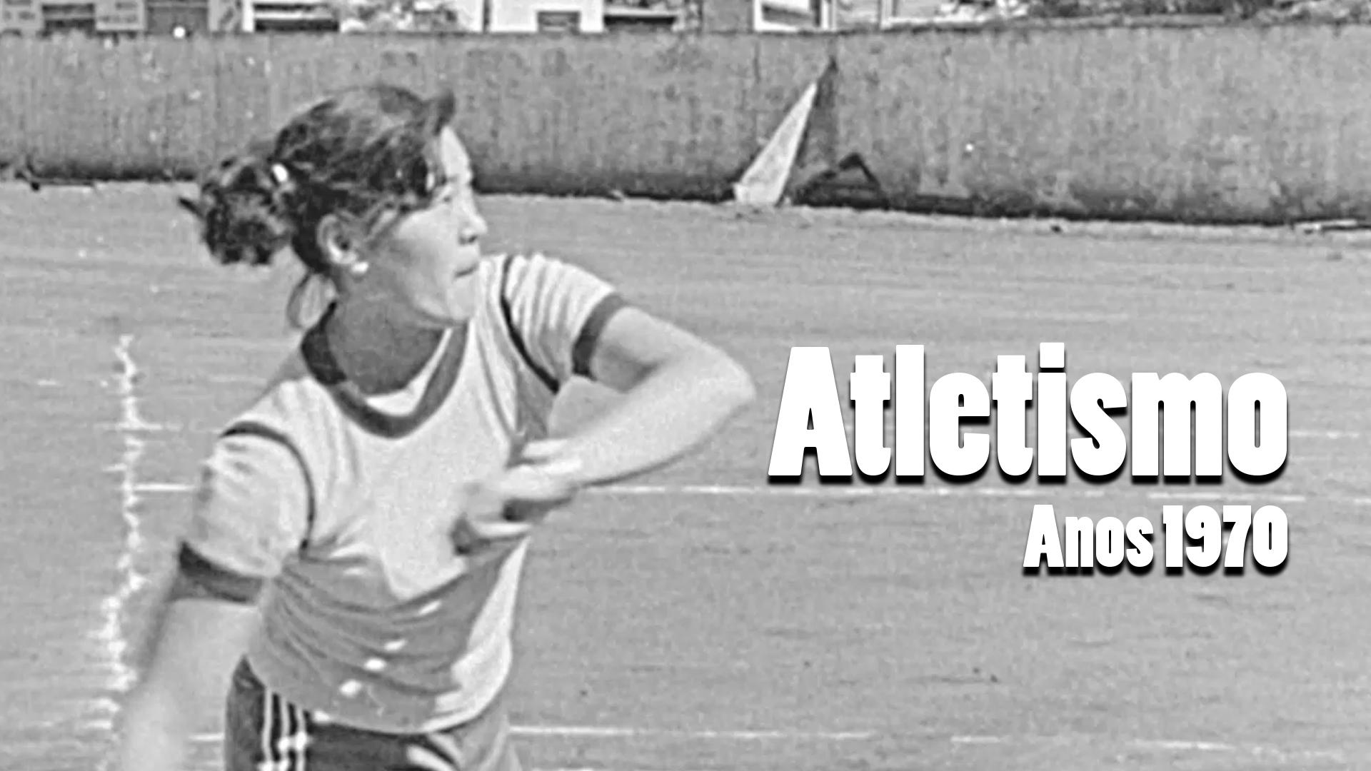 RARIDADE - Atletismo na década de 1970
