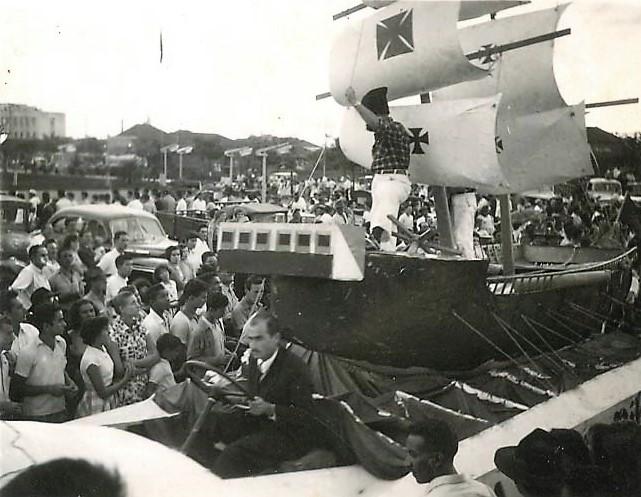 Desfile em Maringá - Maio de 1957