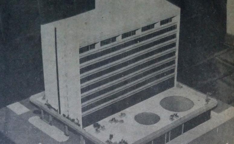 Anunciado o Hotel Deville de Maringá - Janeiro de 1979