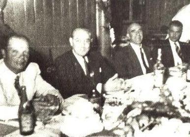 Autoridades na posse do 1º Prefeito de Maringá - 1952