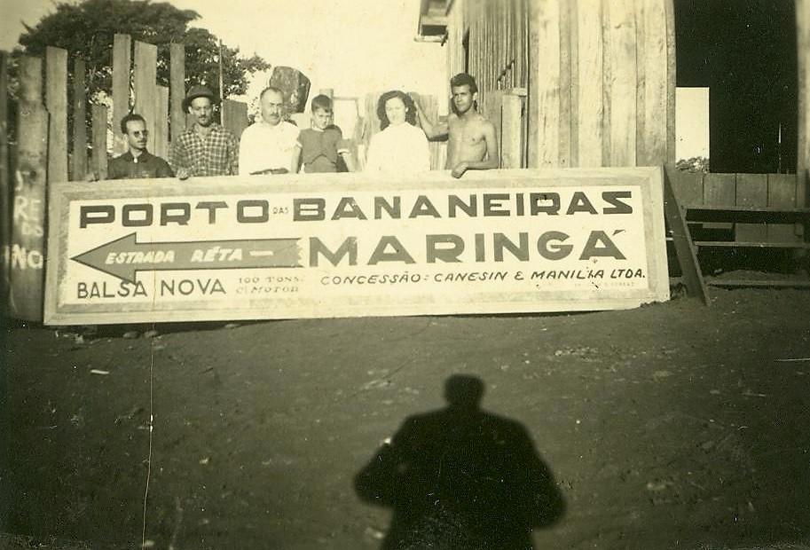 Porto das Bananeiras - 1944