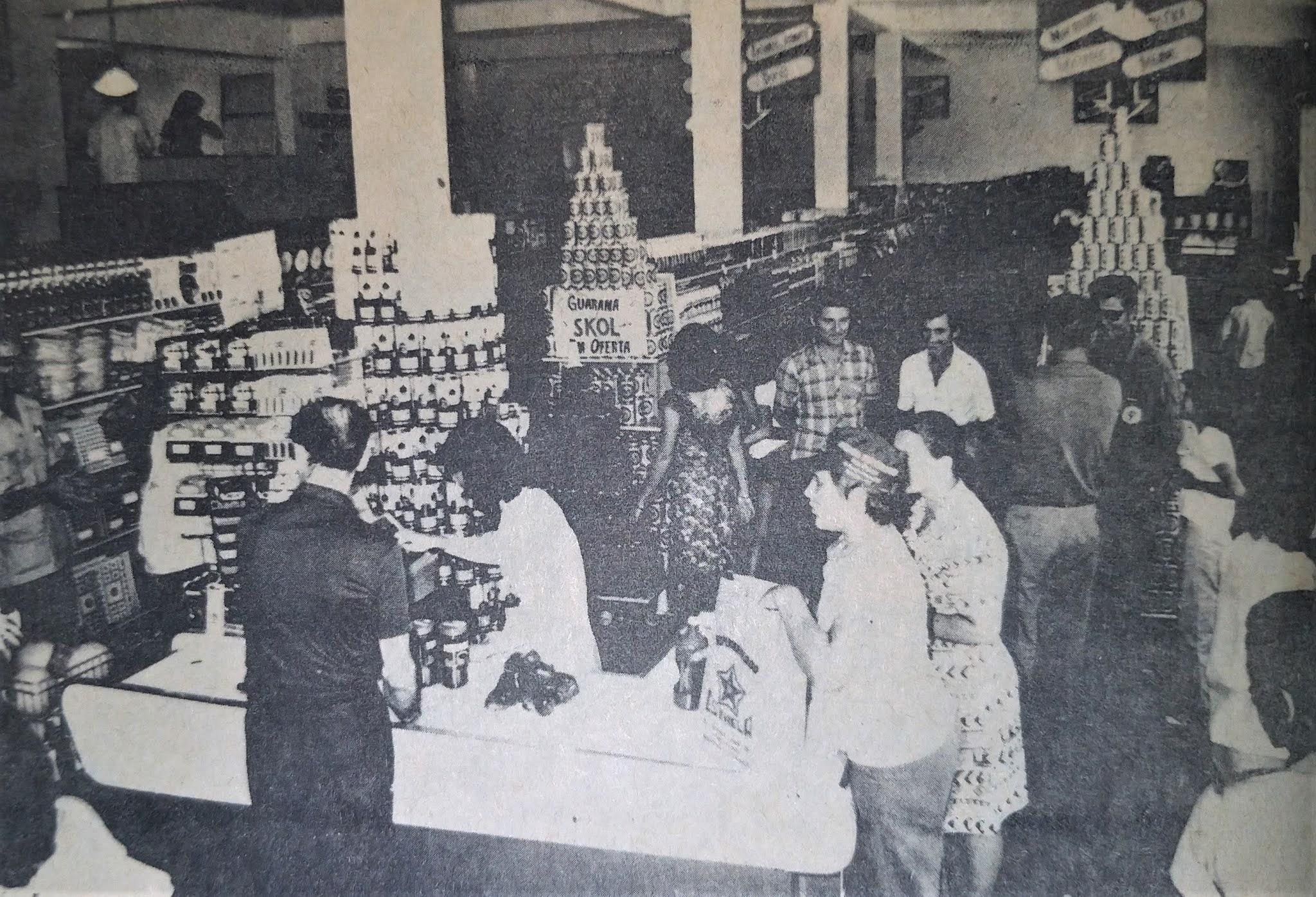 Supermercado Estrela - Final dos anos 1970