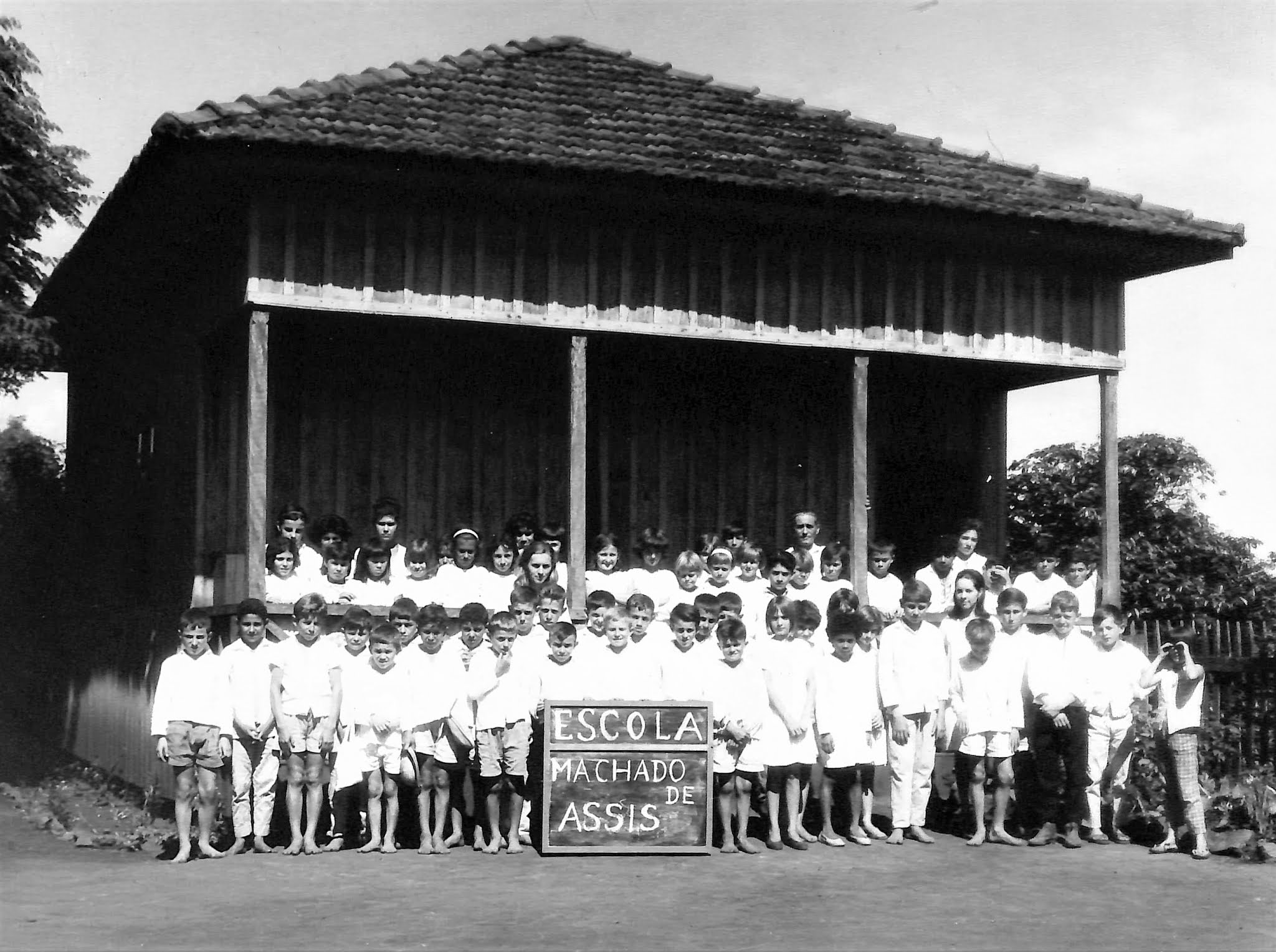 Escola Municipal Machado de Assis - 1968