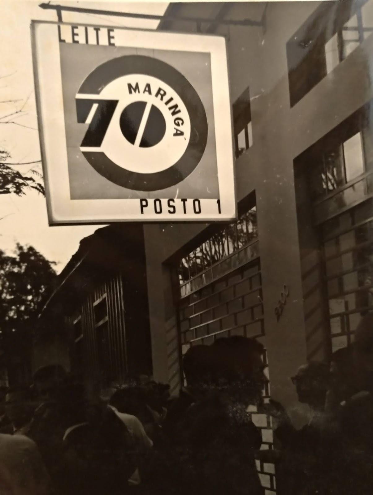 Posto 1 da Maringá 70 - Década de 1970