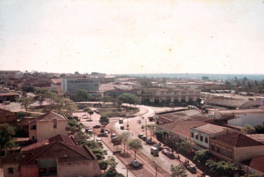 Praça José Bonifácio - Década de 1960