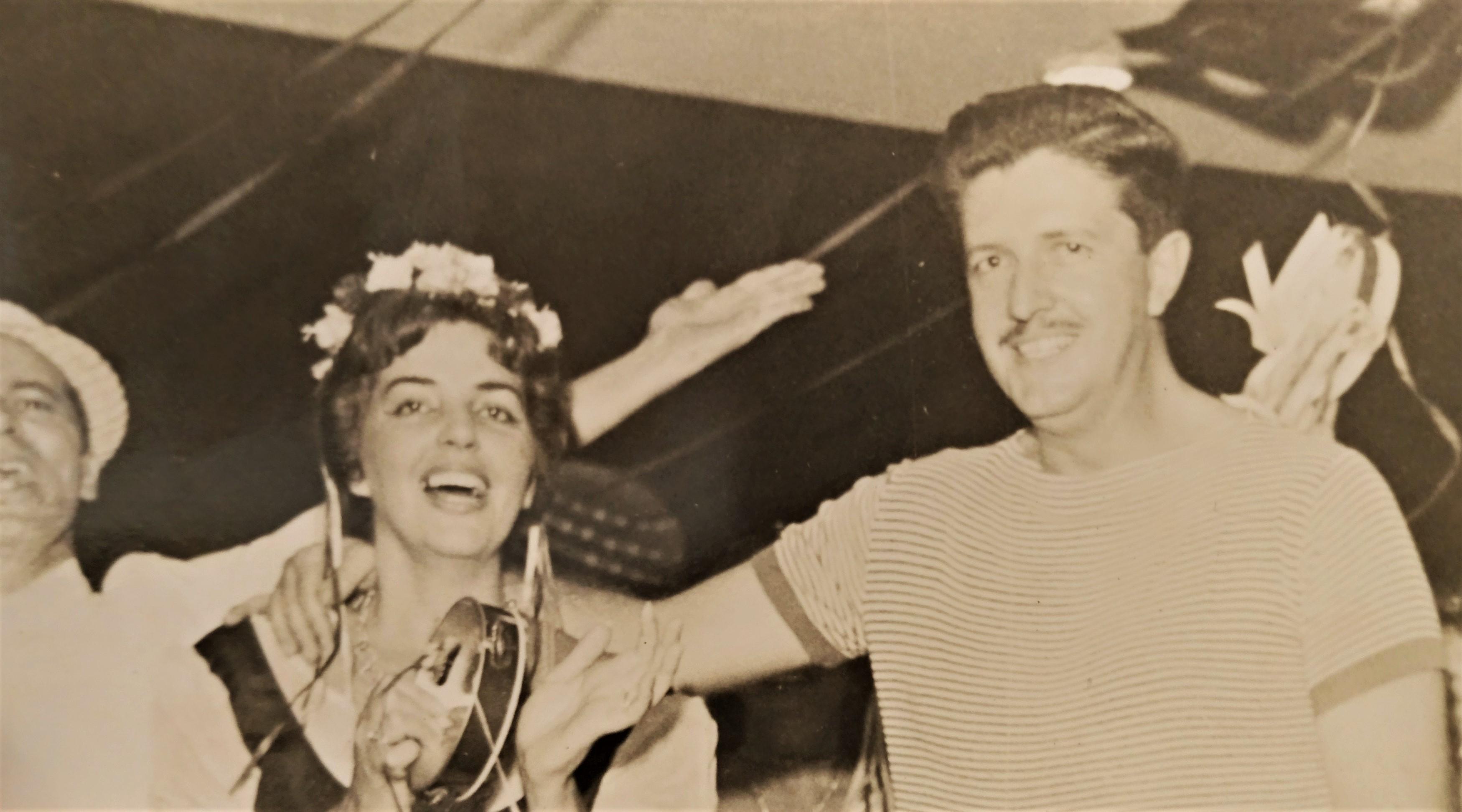 Carnaval no Maringá Clube - 1962