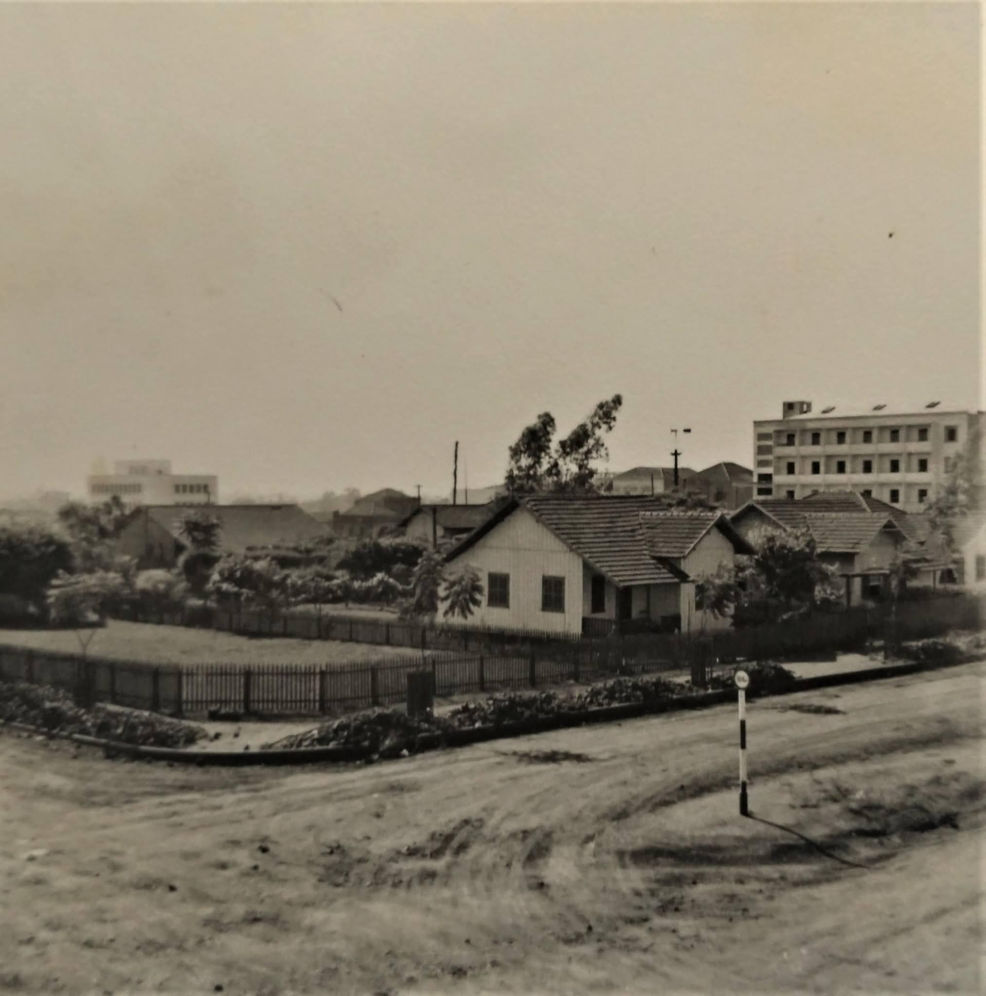 Nova sede da Rádio Cultura em construção - 1953