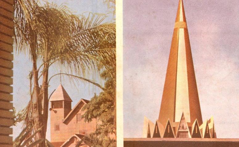 A Catedral de madeira e seu novo projeto - 1961
