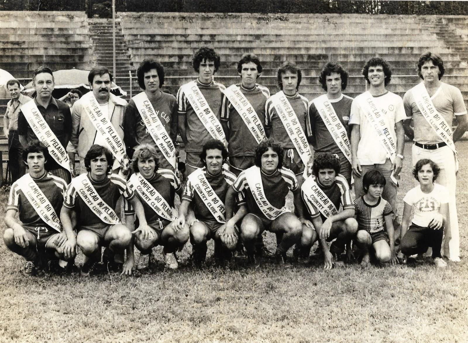 Campeão do Peladão de 1977
