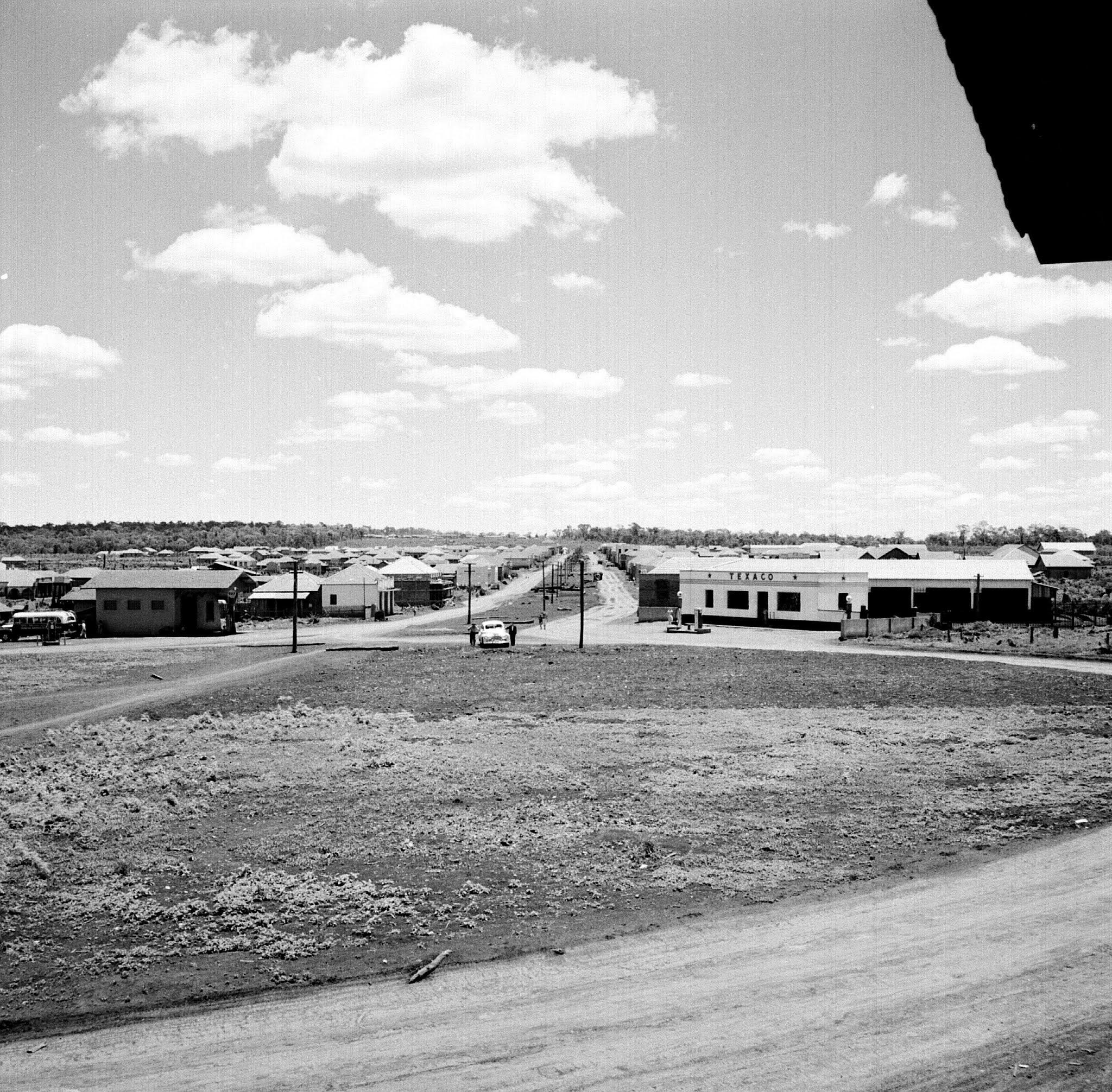 Praça Rocha Pombo - Década de 1950