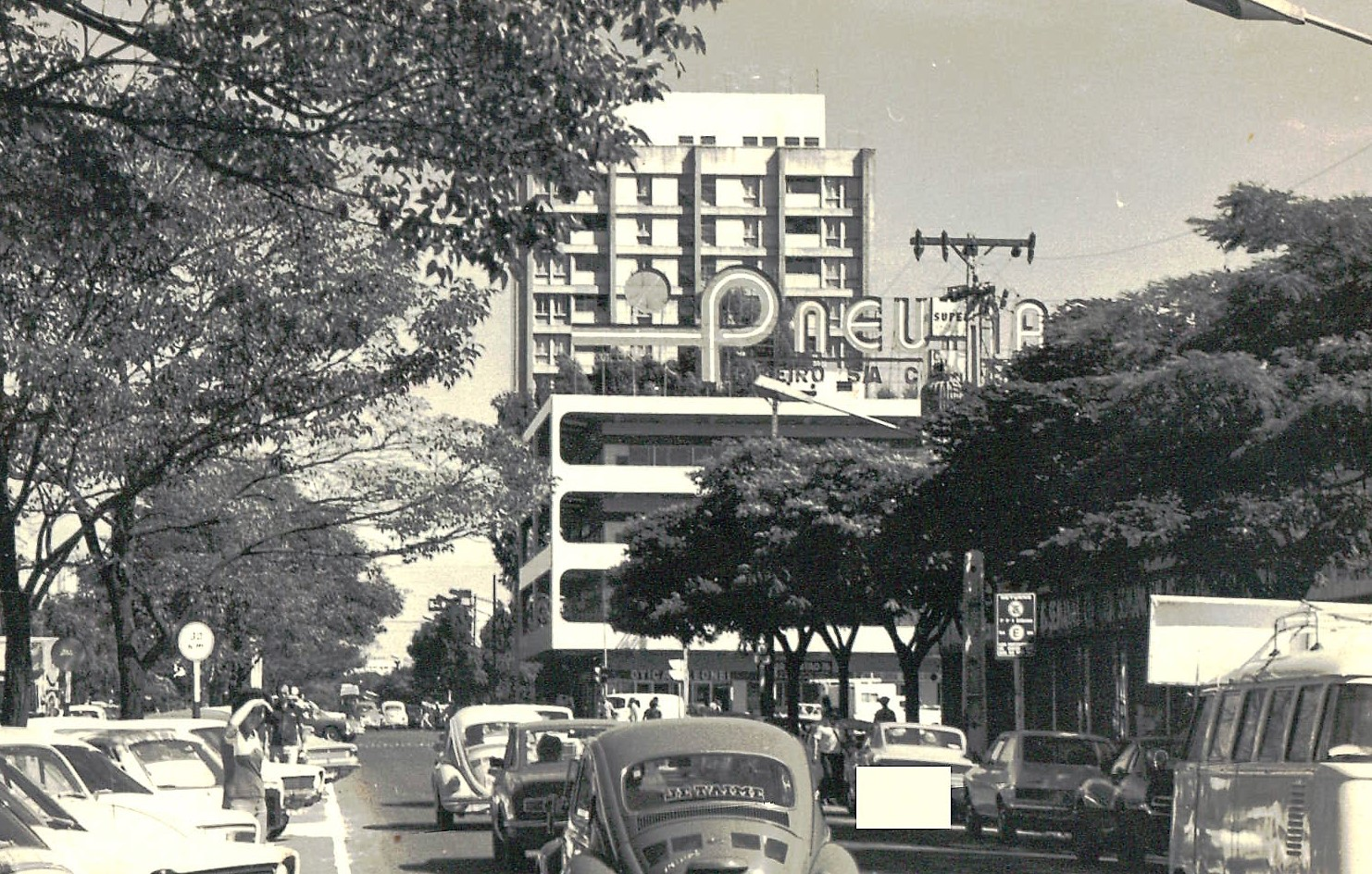Avenida Brasil - Início dos anos 1980
