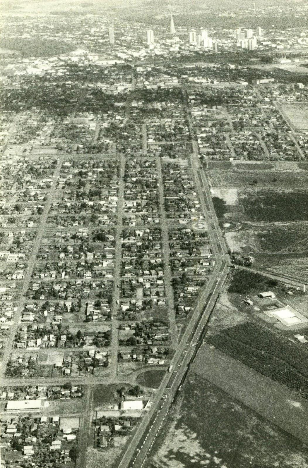 Avenida Morangueira - Década de 1980
