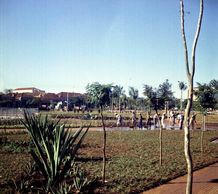 Praça Napoleão Moreira da Silva - Década de 1960