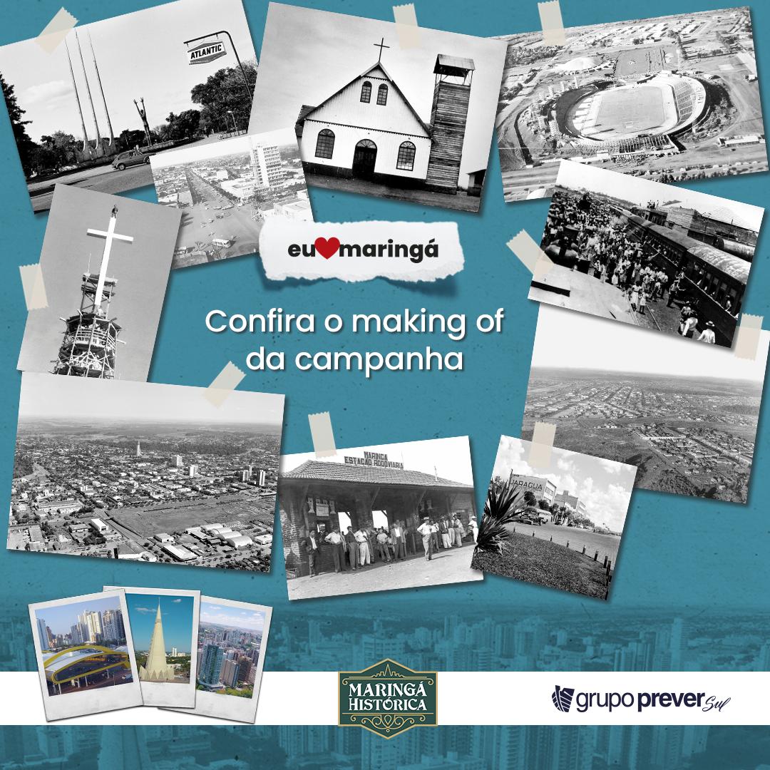 Making of: confira como a campanha do Grupo Prever Sul para comemorar os 74 anos de Maringá foi criada