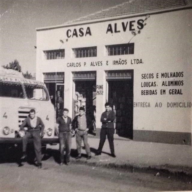 Casa Alves - Década de 1960