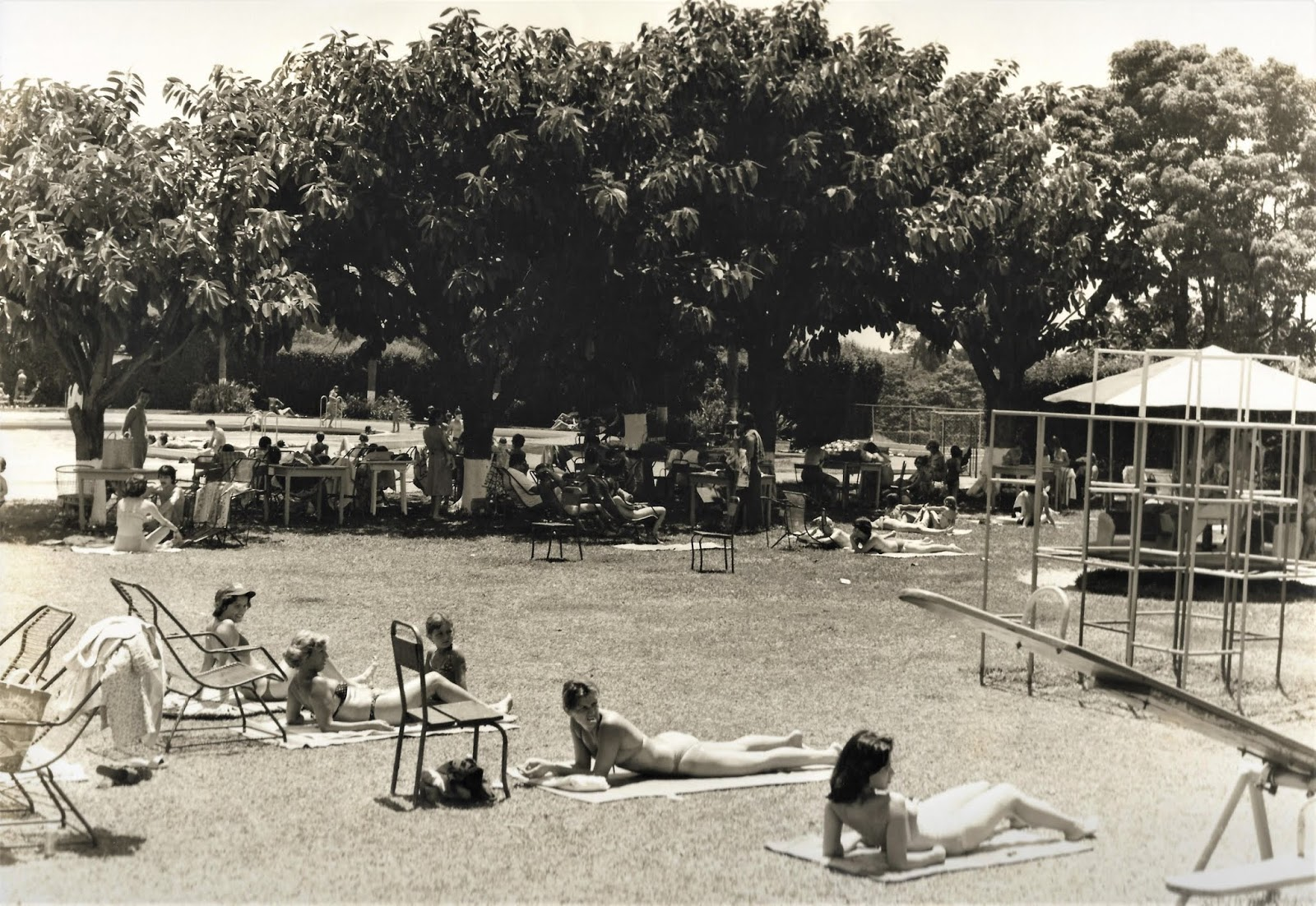 Country Club de Maringá - Década de 1970