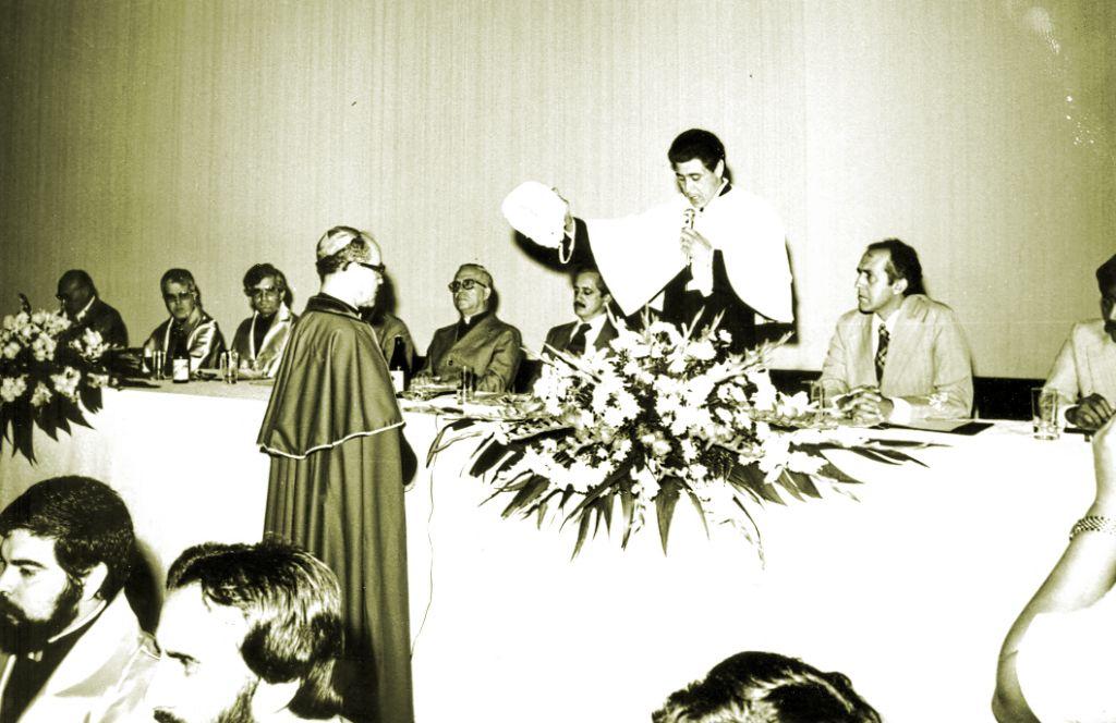 Honoris Causa a Dom Jaime - 1980