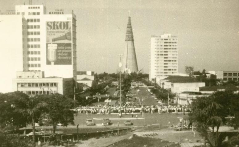 Praça Raposo Tavares - 1973