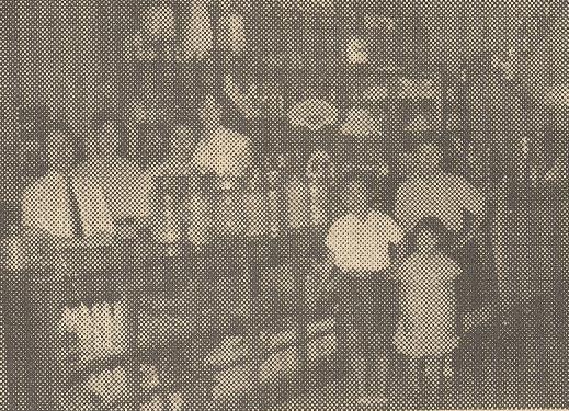 Bar e Sorveteria Bandeirante - Década de 1950