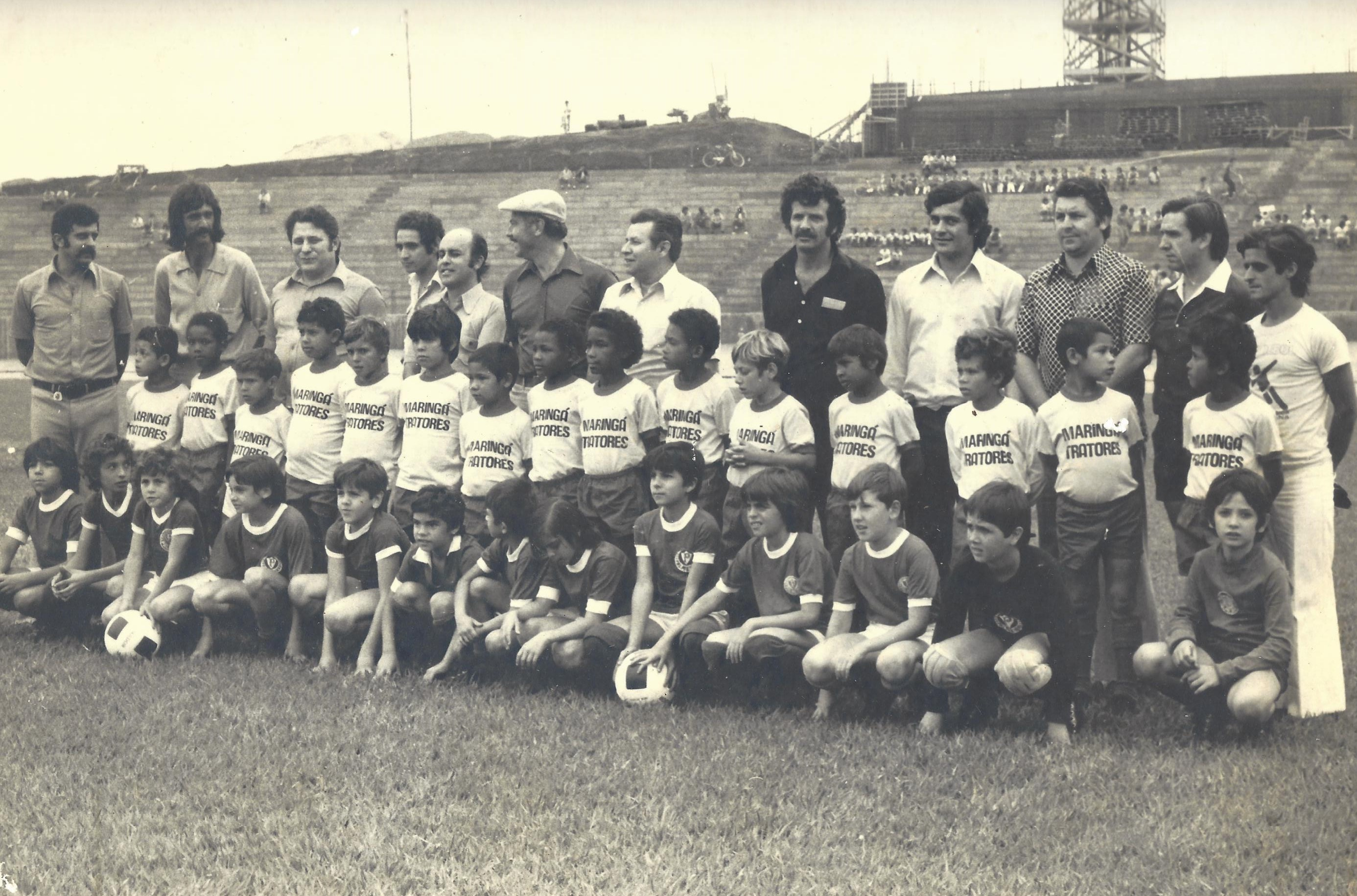 Palmeirinhas x Maringá Tratores - Década de 1970