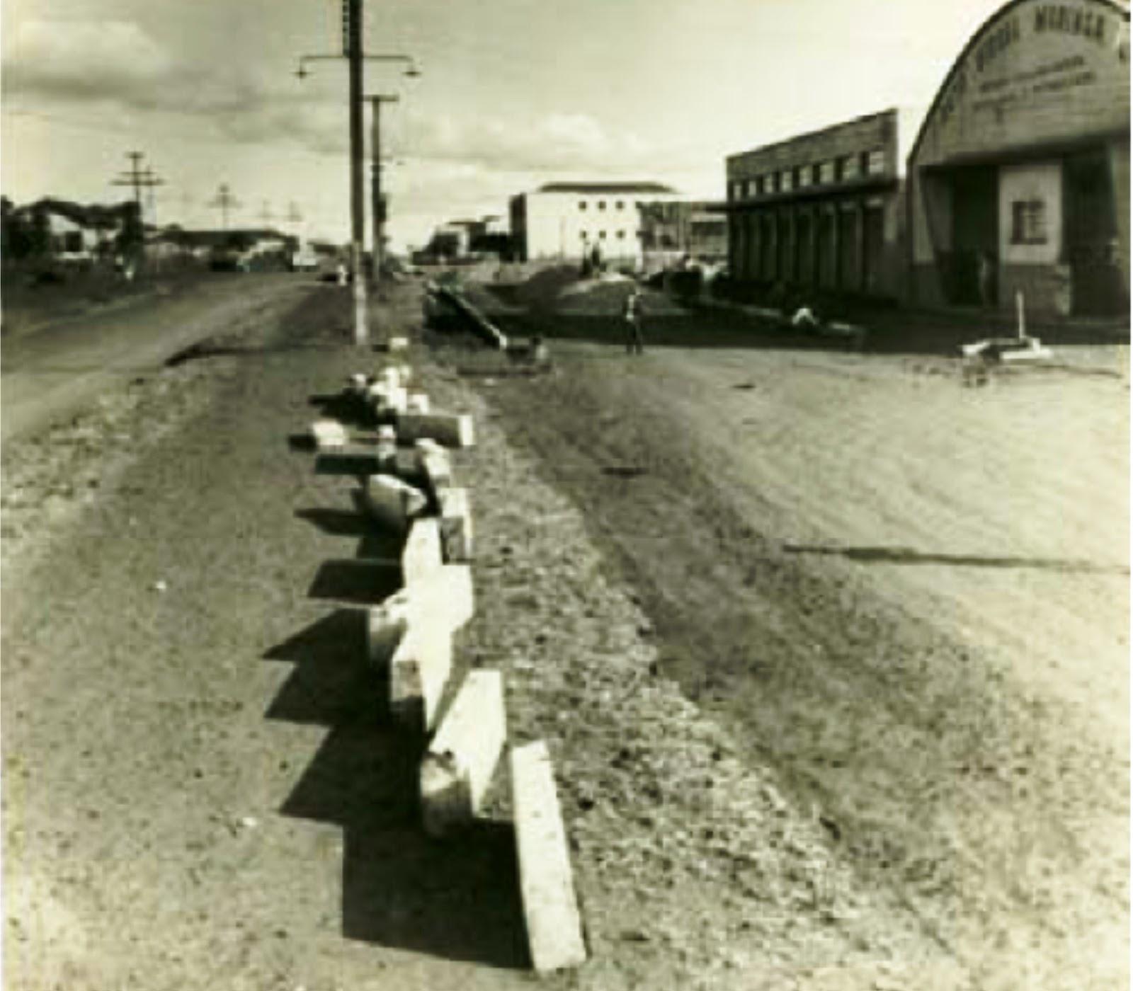 Avenida Paraná - Década de 1960