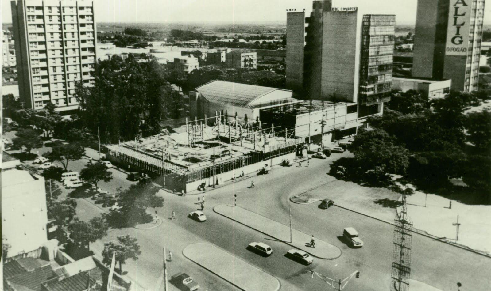 Centro Comercial - Início da década de 1970