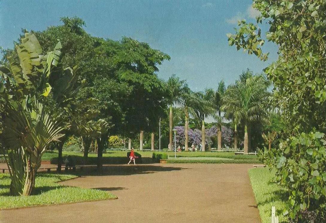 Praça Napoleão Moreira da Silva - Década de 1970