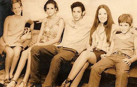 Filhos de Adriano José Valente - Final dos anos 1960