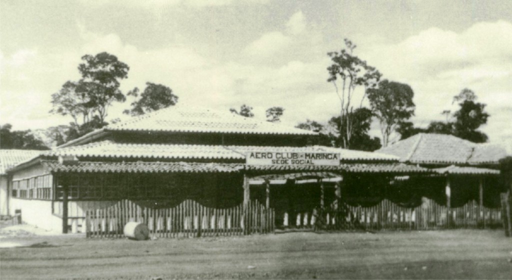 Sede Social do Aero Club de Maringá - 1954