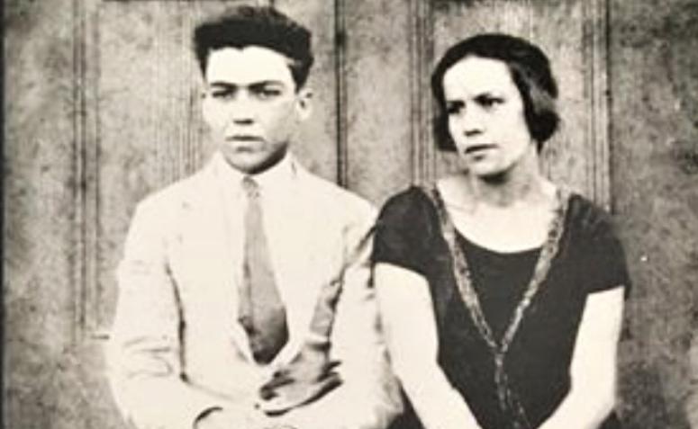 Carlos Corrêa Borges e Judith de Aguiar Borges - 1951