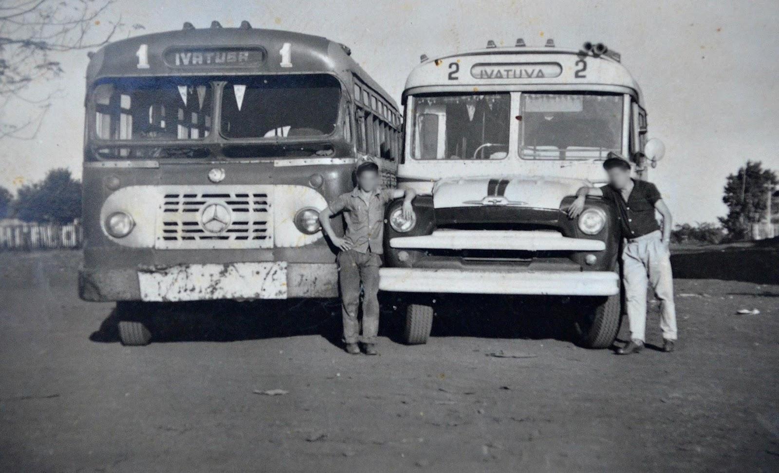 Expresso Ivatuba - Linha Maringá-Ivatuba - 1961