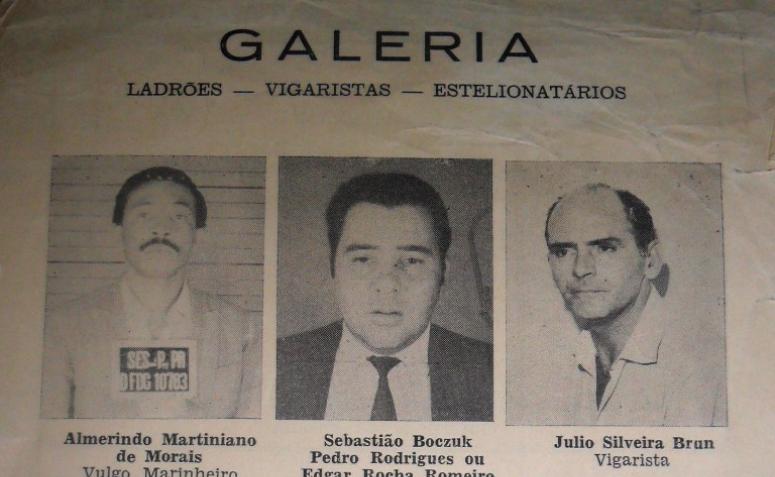 O Jornal de Maringá: Galeria de Ladrões e Golpistas