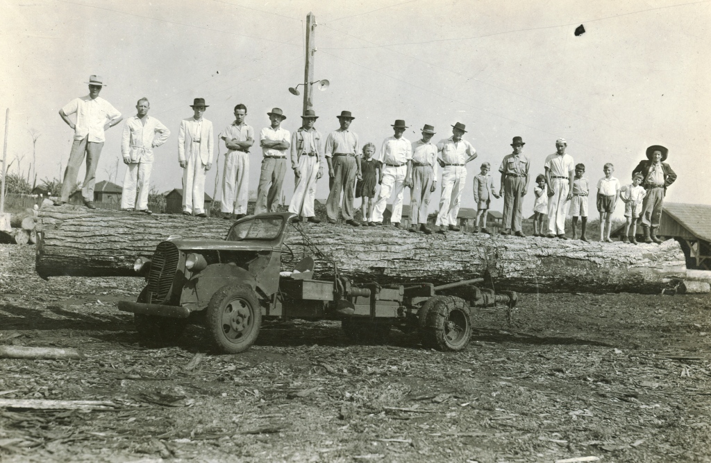 Funcionários - Serraria Brenner - Década de 1950