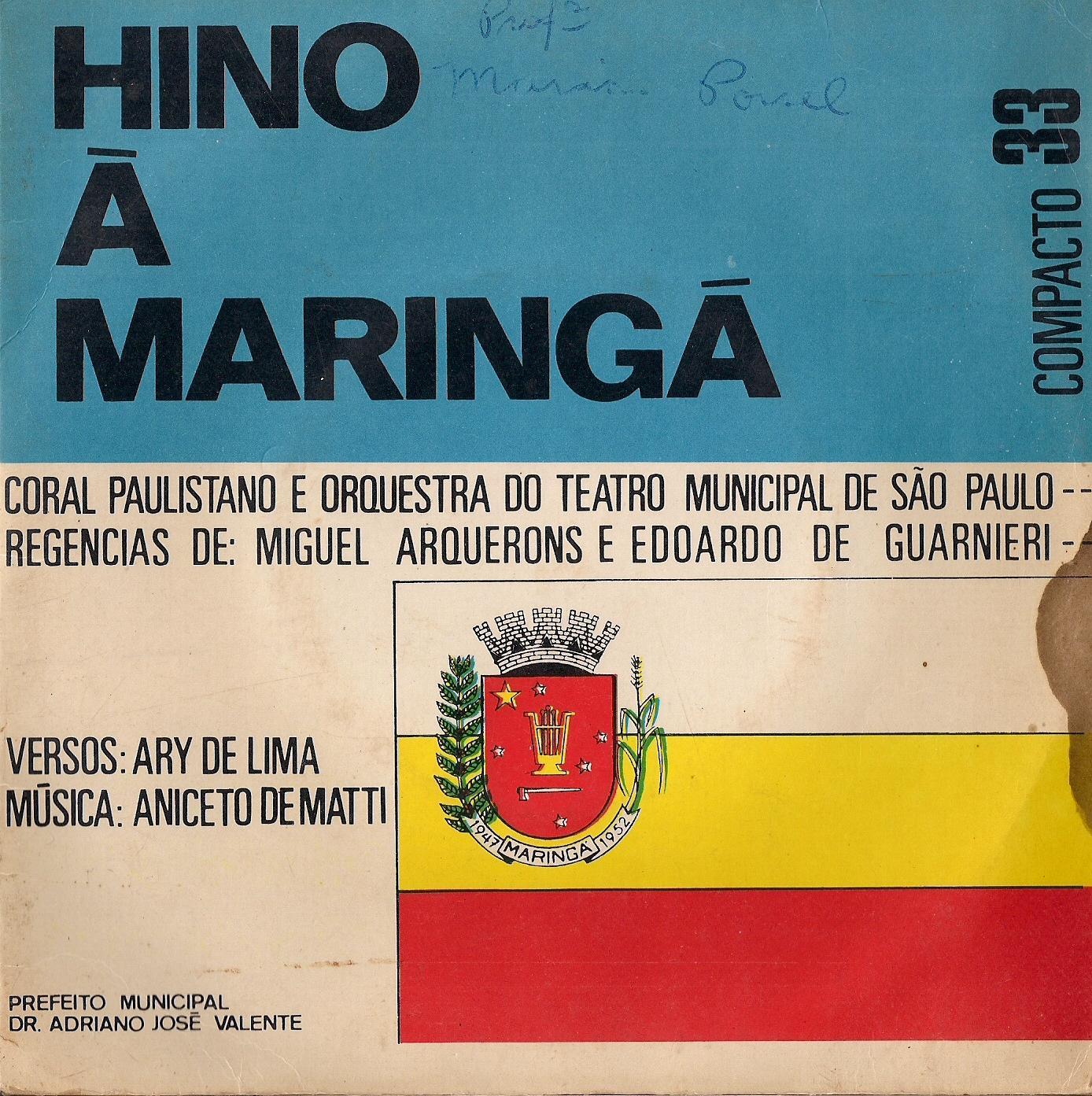 Compacto com Hino de Maringá