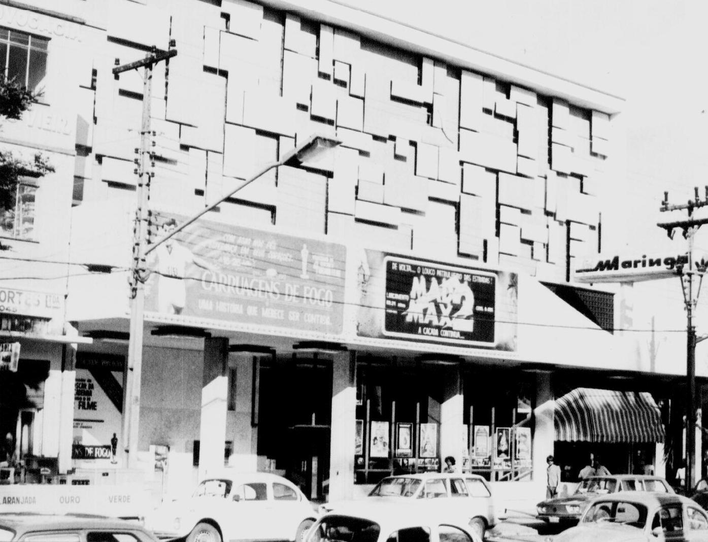 Cine Maringá - 1982