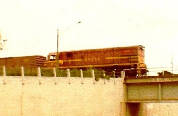 Viaduto do Café - 1982