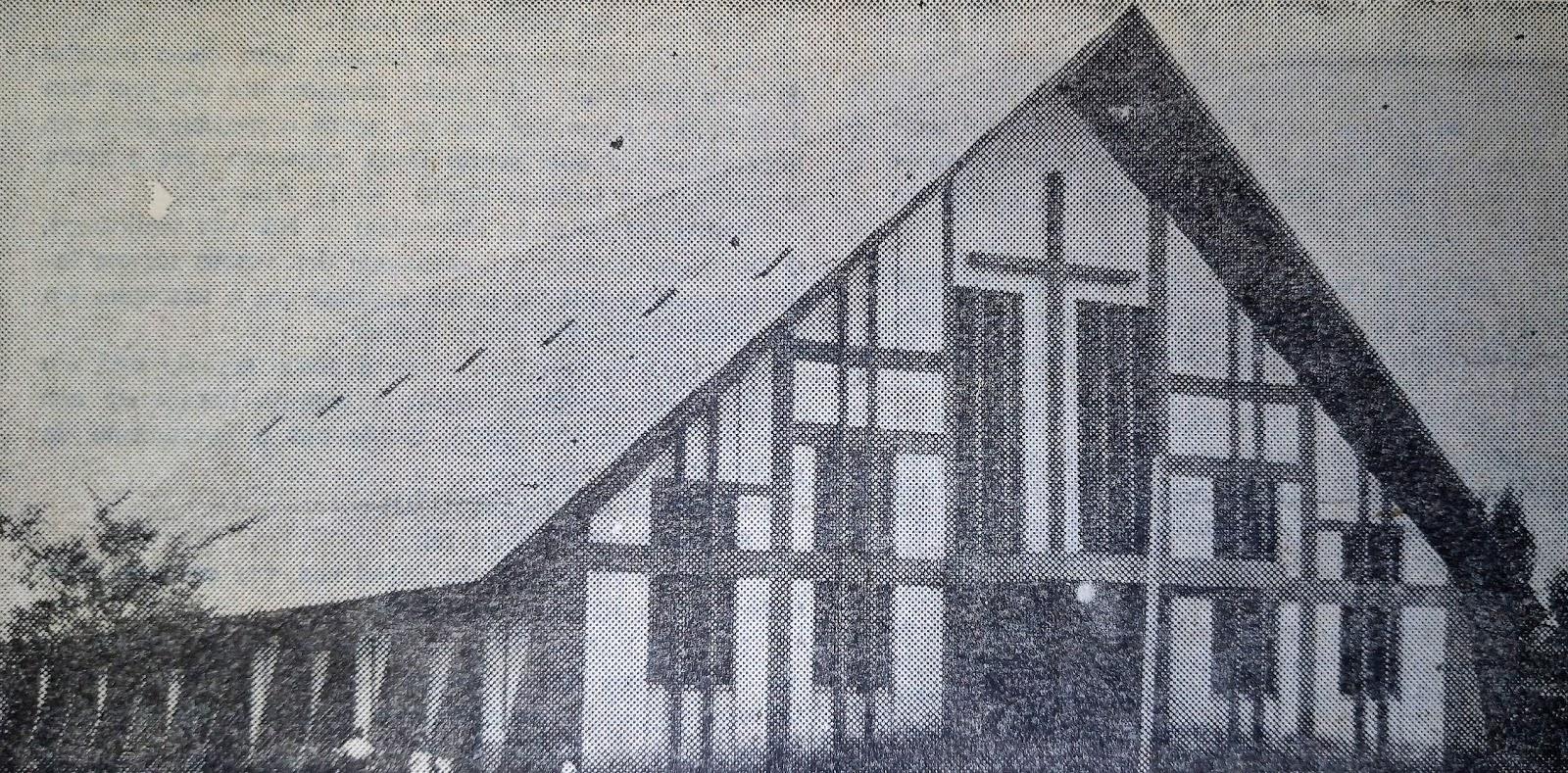 Inauguração da Igreja Santo Antonio - 1972