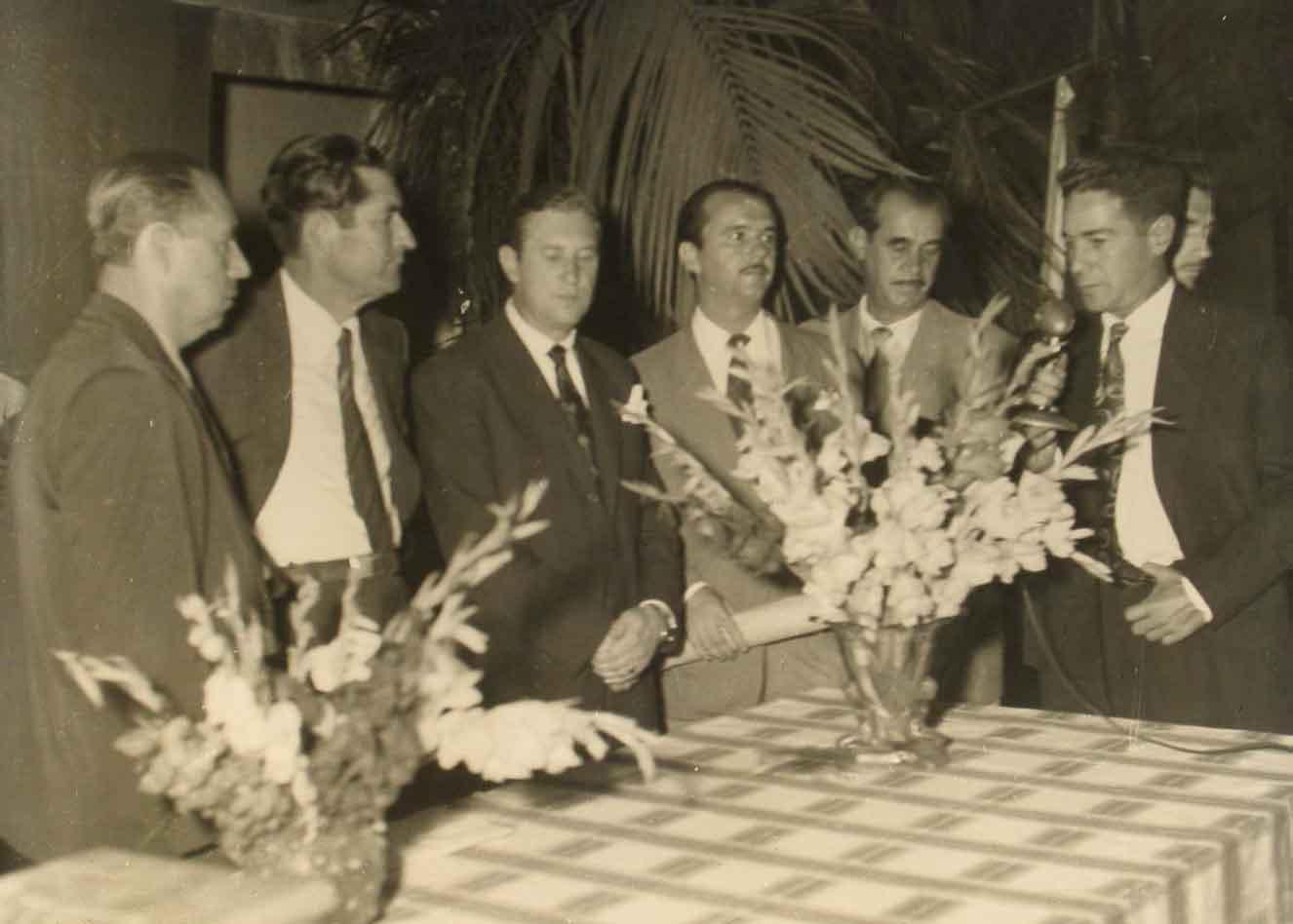 Posse do Prefeito e Vereadores - 1952