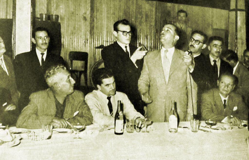 Bento Munhoz no Aero Clube - 1953