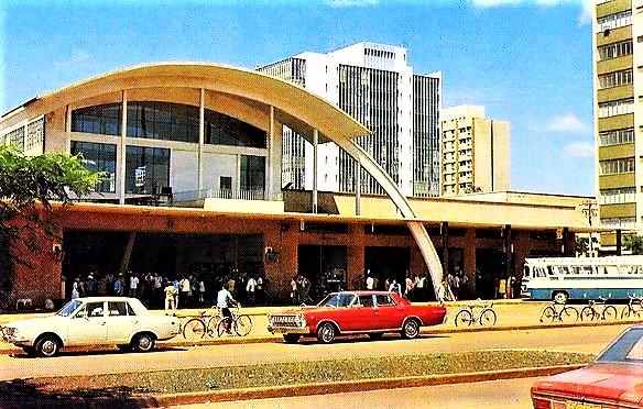 Estação Rodoviária Municipal - 1973