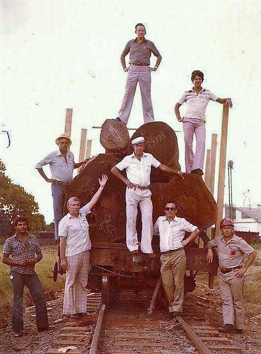 Ferroviários - Década de 1970