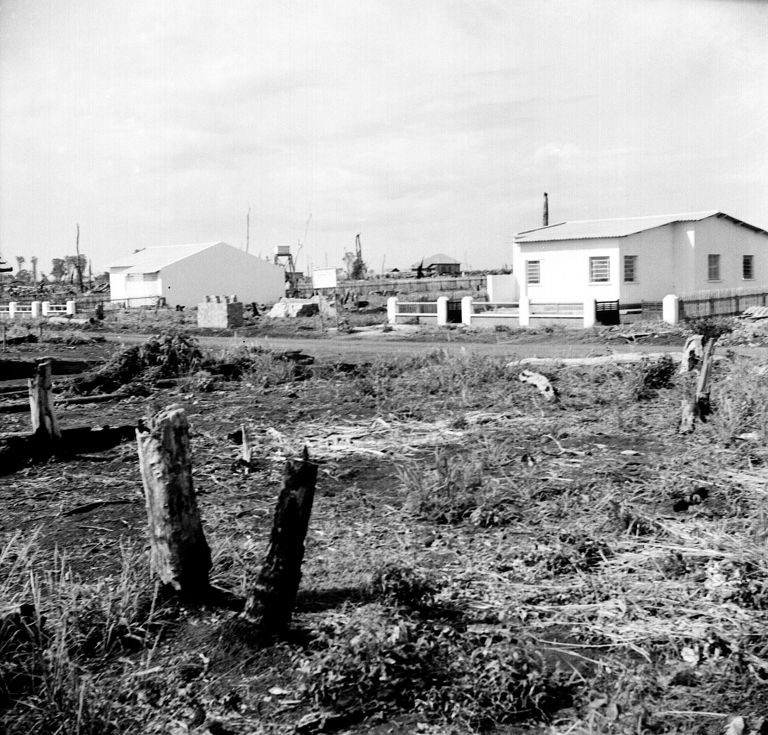 Tocos e casas - Final dos anos 1940