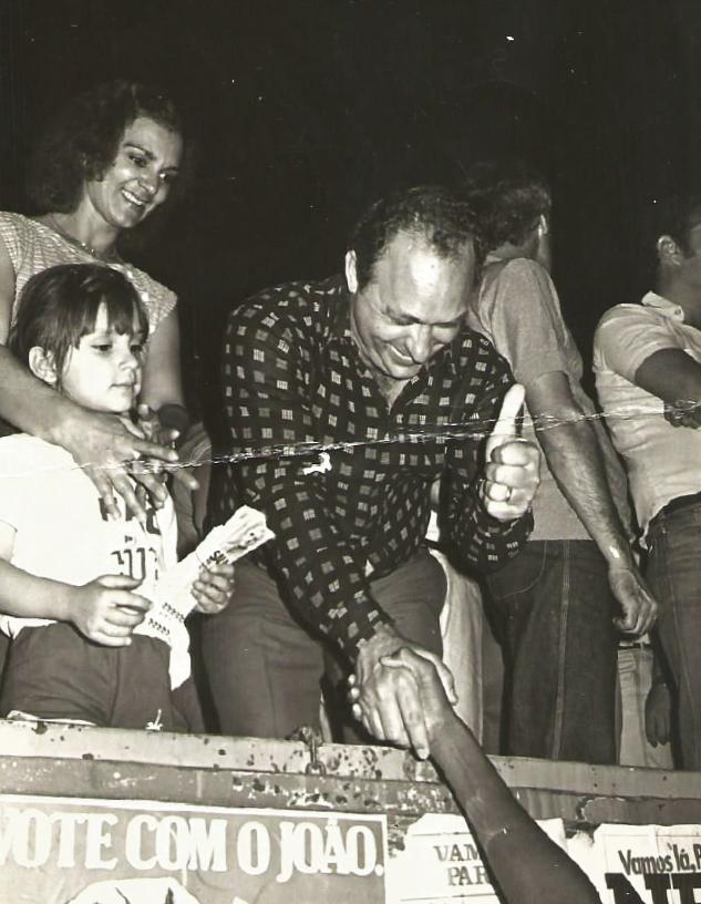 Antonio Facci nas eleições municipais - 1982