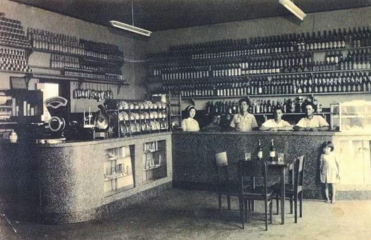 Bar, Sorveteria e Restaurante Shima - Anos 1940