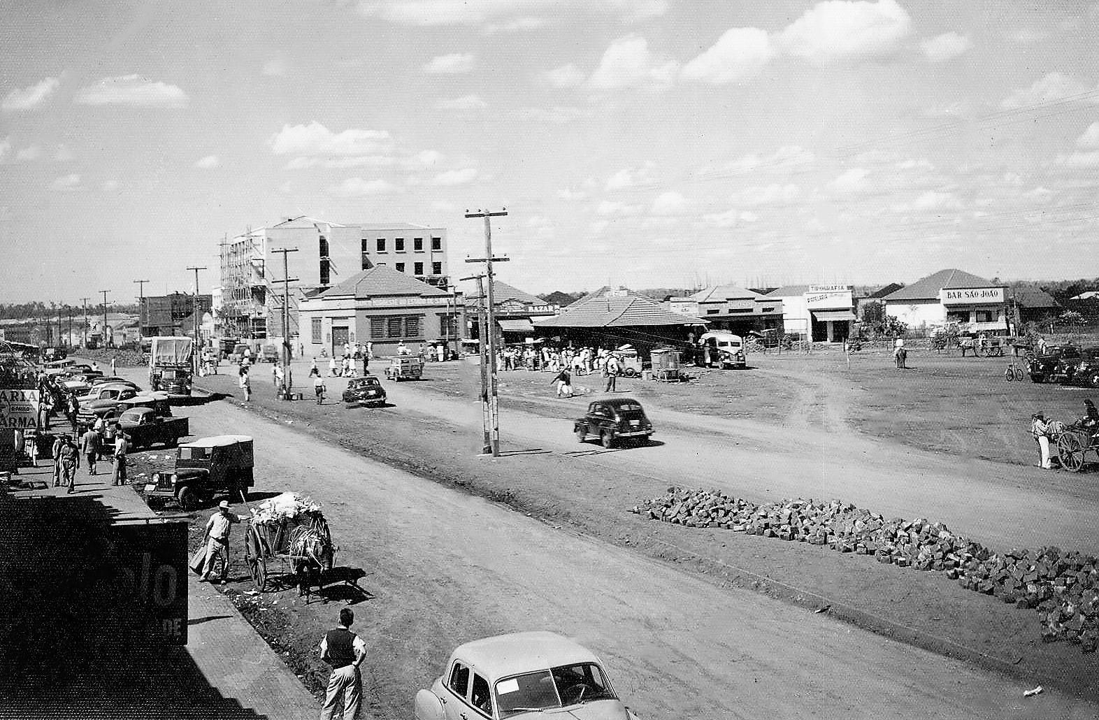 Avenida Brasil - Início da década de 1950