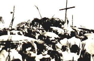 Lançamento da Pedra Fundamental - Igreja São José